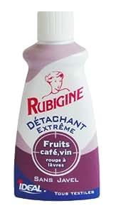 Rubigine - 33643511 - Détachant Fruits-Café-Vin - Lot de 4