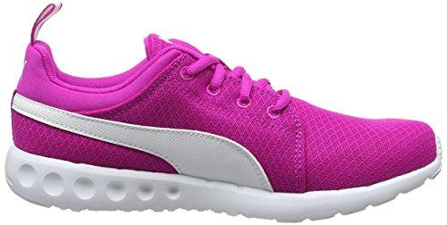 Puma Carson Mesh Wn's, Chaussures de Running Compétition Femme Rose (Ultra Magenta-puma White 08)