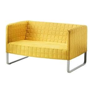 ikea sofa knopparp 2 er sofa bezug abnehmbar und maschinenwaschbar bxtxh 119x76x70 cm. Black Bedroom Furniture Sets. Home Design Ideas