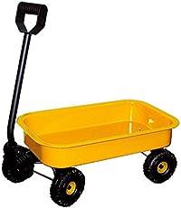 Small Foot by Legler Handwagen Blech aus Metall, mit Radfelgen und Kunststoffrädern, zum Spielen und Transportieren