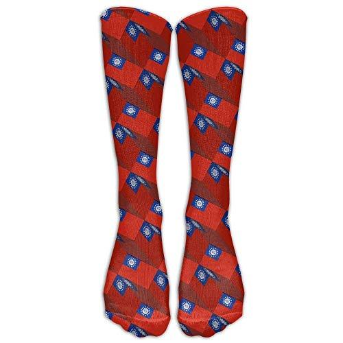 shengpeng25 Myanmar Flag 3D Art Pattern Compression Socks Soccer Socks High Socks Long Socks for Running,Medical,Athletic,Edema,Diabetic,Varicose Veins,Travel,Pregnancy,Shin Splints,Nursing.