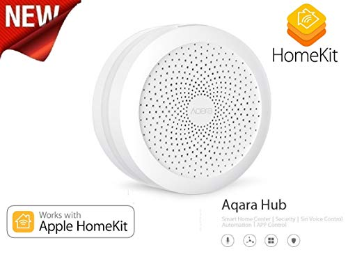 IDOR STORE Hub Switch Wireless Smart Kit WiFi HOMEKIT Apple Smart Home Aqara Gateway CASA domotica iOS Controllo Zigbee Dispositivi Ehy, Siri!
