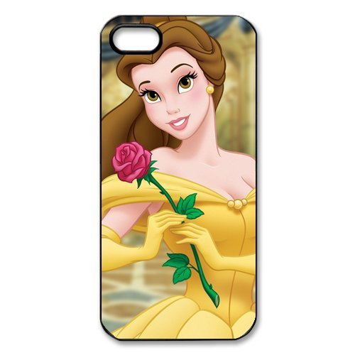 iPhone 5S Coque, Disney Beauty And The Beast Series Housse de Apple iPhone 5s Case Cover Coque en silicone skin Housse Coque Shell de protection pour iPhone 5 5S