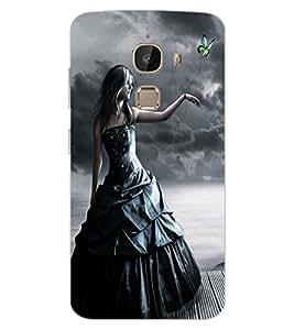 ColourCraft Angel Design Back Case Cover for LeEco Le 2