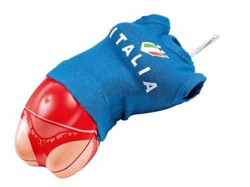 PSN Body Optical Maus USB Team Italien Computermaus Rot Form Frauenkoerper inkl. Trikot die Brueste werden als Tasten genutzt