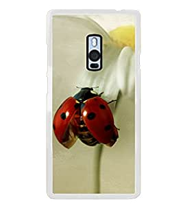 Red Beatle 2D Hard Polycarbonate Designer Back Case Cover for OnePlus 2 :: OnePlus Two :: One +2