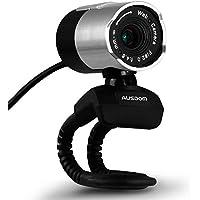 AUSDOM AW335 Webcam, HD Computer Camera, 1080P HD USB Web Camera con Microfono e Autofocus per PC o Laptop, Skype e videochat