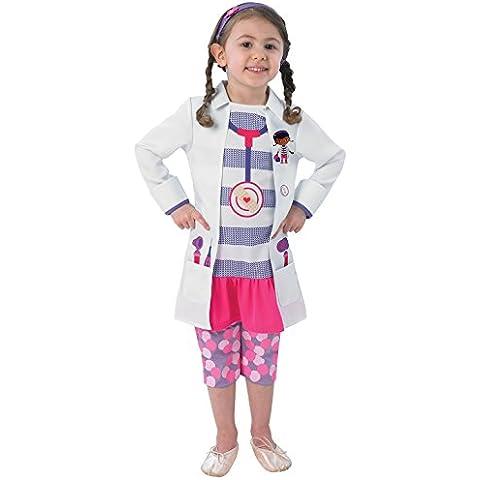 Doctora Juguetes - Disfraz de medico para niña, talla M (6 años) (I-889549M)