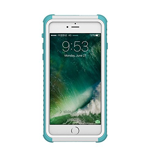 Wasserdichte Hülle für iPhone 6, Vandot Waterproof Case [solide, robust und starr] Schutzhülle 360 Grad von Schutz Case Hull Anti-Shock staubdicht Anti-Snow Abdeckung [Screen of Protection] iPhone 6 C Wasserdicht-blau