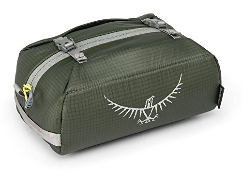 Osprey Ultralight Padded Wash Bag - Shadow Grey / Travelling Travel Holiday Trip Tour Vacation Hiking Hike Camping Camp Organiser Toiletries Toiletry Bathroom Storage Container Pack Accessories Personal Care Man Men Woman Ladies Unisex Cosmetic Gym