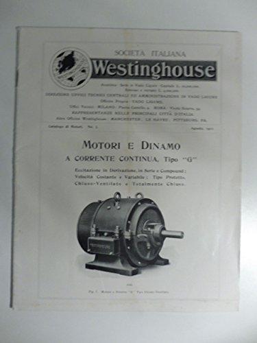 societa-italiana-westinghouse-motori-e-dinamo-a-corrente-continua-catalogo-commerciale