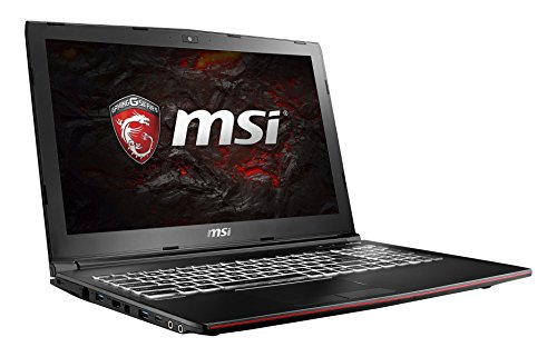 MSI GP62M 7RD-076DE Leopard (39,6 cm/15,6 Zoll) Gaming-Notebook (Intel Core i7-7700HQ, 8GB RAM, 1 TB HDD + 128 GB SSD, Nvidia GeForce GTX 1050, Windows 10 Home) schwarz GP62
