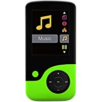 Crypto MP1800 Lettore audio MP4 e radio FM da 8 GB, con funzione di registrazione della voce e video e scheda di memoria micro SD