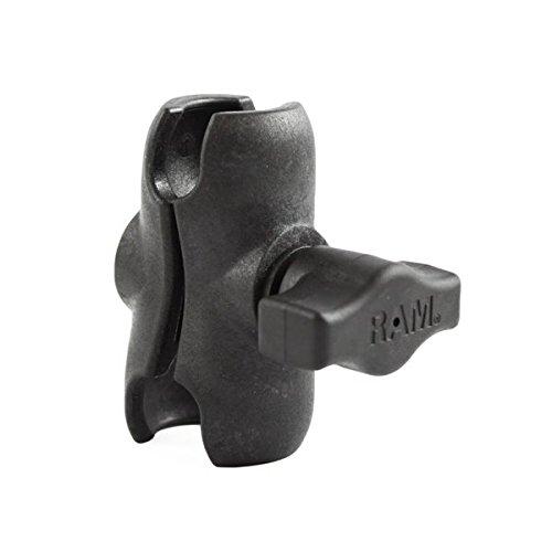 Ram Mounts 200 Bulk PKGD DBL Socket ARM for 1Inch Ball, RAP-B-201U-A-200 (ARM for 1Inch Ball) -