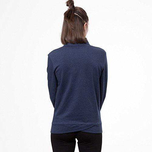 THOKKTHOKK Damen Sweatshirt Dunkelblau Bio Fair, Größe:XL - 5
