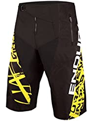 Endura - Mt500 Burner Ratchet Short, color negro, talla S