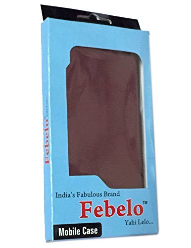 Febelo (TM) Customised New Design Video Stand View Perfect Fitting Flip Cover Case for Coolpad Mega 2.5D – Black Color