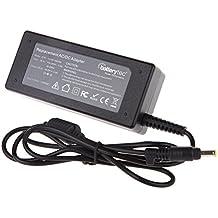 Batterytec® 65W 18.5V 3.5A Adaptador de cargador para Hp pavilion DV3 DV3000 dv3-1075ca dv3-1075us dv5-1251nr dv5-1254us dv5-1334ca dv4-1117nr dv4-1540us dv4-2040us 608425-003 608425-004 608425-005,Con el cable de alimentación estándar europeo. [18.5V 3.5A 1.7mm * 4.8mm 12 meses de garantía]
