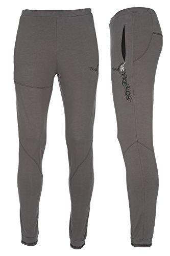 Yogamasti Hombres de Sagrado Tatuaje Slimfit Pantalones de Yoga s/m