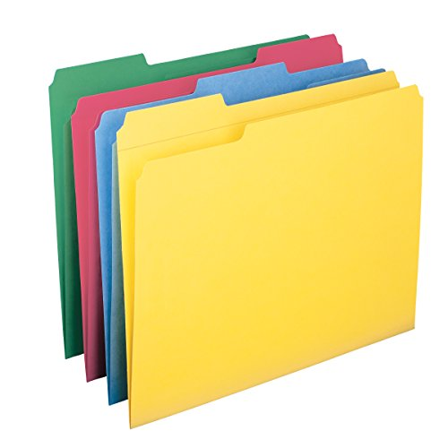 Smead File Folder, Reinforced 1/...