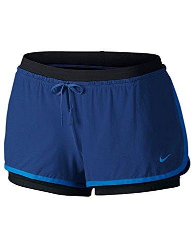 Nike Beinkleid Full Flex 2 in 1 Shorts Women Blau