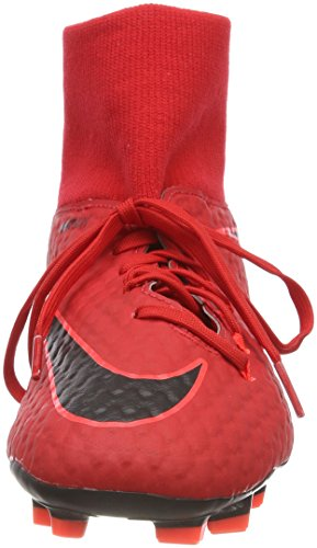 Nike Herren Hypervenom Phelon 3 Df Fg Fußballschuhe Marciume (università Rossa / Rosso Cremisi / Nero)