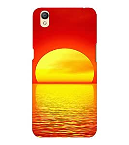EPICCASE Sunrise Mobile Back Case Cover For OPPO A37 (Designer Case)