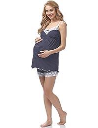 Be Mammy Lactancia Pijama para Mujer BE20-143