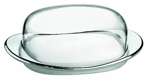 Guzzini 22420016 Beurrier Chromé 7,5 x 20 x 12,3 cm