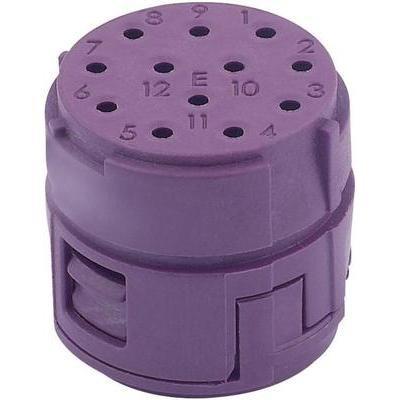 Preisvergleich Produktbild EPIC® CIRCON M23 Stifteinsatz EPIC® M23 6E SLM (5) LappKabel Inhalt: 1 St.