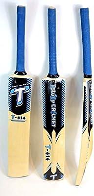 Cinta/pelota de tenis T414bate de críquet, mango de caña, tamaño adulto, ligero