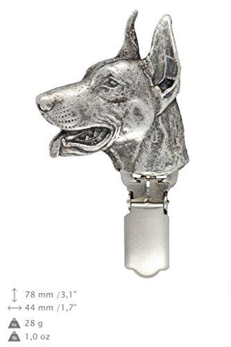 Dobermann, Hund, Hund clipring, Hundeausstellung Ringclip/Rufnummerninhaber, limitierte Auflage, Artdog