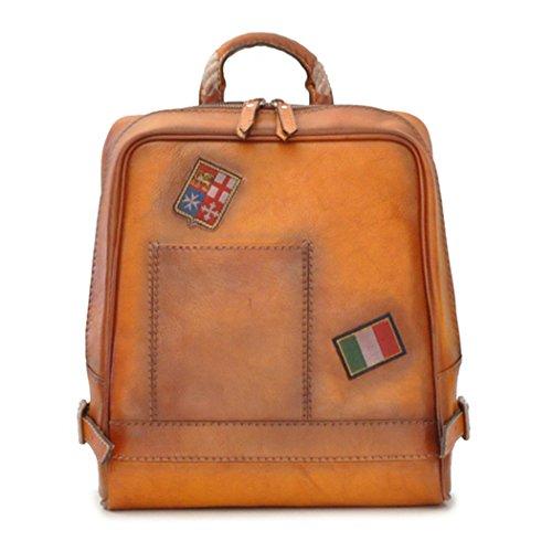 Pratesi Firenze italienischen Leder Laptop-Rucksack (tan braun) - Pratesi Laptop