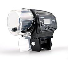 Sookg alimentador automático Digital para Peces, Acuario, pecera, Estanque, alimentador automático,