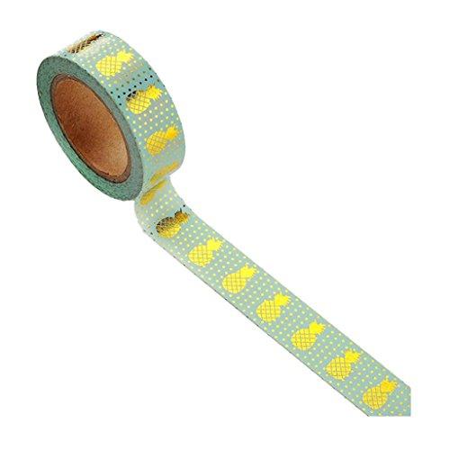 Papier Washi Tape Dekorative Tapes Scrapbook Werkzeug Crafts longyitrade blau ()