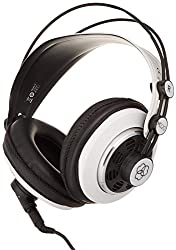 AKG 2015 M220 Pro Stylist Professional Large Diaphragm DJ Semi-Open High Definition Over-Ear Studio Headphones