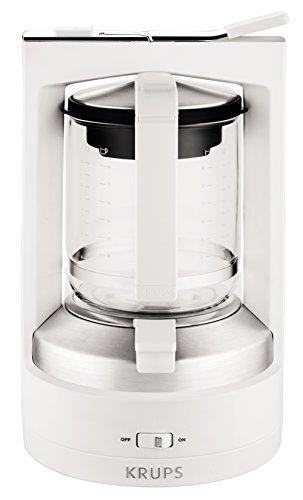 Krups KM468210 Druckbrühautomat T8.2, weiß (Weiß Kaffeemaschine Automatische)