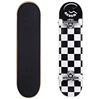 "Cal 7 7.5 Inch Complete Skateboard (7.5"" Checkerboard)"
