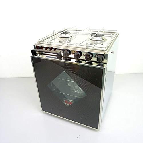 CAN 1750W Gasherd mit 30L Backofen Tropic mit Grill 2-flammig 400x420x510mm für Boot, Caravan & Camping - Gasherd Mit Grill