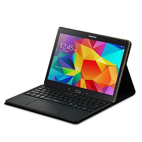 Sharon SI54210 Galaxy Tab S 10.5 Schutztasche mit herausnehmbarer Tastatur und integriertem Multitouch-Touchpad | deutsches QWERTZ-Layout