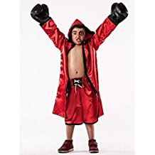 Disfraz de Boxeador Rojo infantil G-(9/11A)