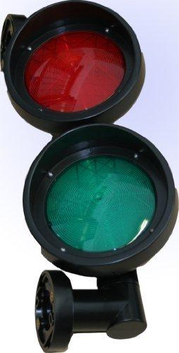 Ampel Verkehrsampel LED-Signalleuchte Rot-Grün 230V