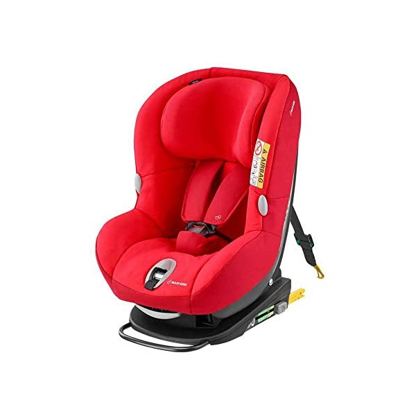 Maxi-Cosi MiloFix ISOFIX Combination Car Seat, Group 0+/1 car seat, Rear and Forward-facing, 0-4 years, 0-18 kg, Nomad Red Maxi-Cosi Extended rearward-facing travel up until 18 months for improved head and neck protection Install using isofix with top tether anchorage strap with colour indicators Long-lasting car seat, growing with baby from birth to approx. 4 years old 1