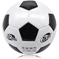 C.N. Formation Primaire pour Enfants, Animation, Machine de Football à balles, Football, Campus de Football, Sports, Plein air,Noir Blanc,1