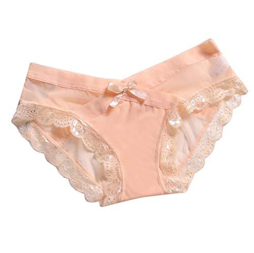 Manadlian Damen Panties Sexy Spitze Slips Hipster Frauen Shorts Brazilian Slip Bikini Badehose Strand Mini Tanga Rüsche Badeanzüge G-String