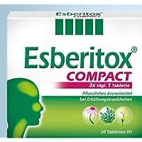 Esberitox Compact (to go) Spar Set: 3 x 20 St. verkürzt die Erkältung, Pflanzenpower gegen die Erkältung,mit drei... preisvergleich bei billige-tabletten.eu