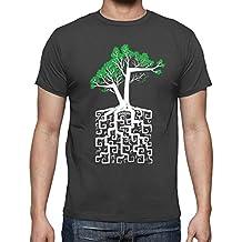 latostadora - Camiseta Raíz Cuadrada para Hombre