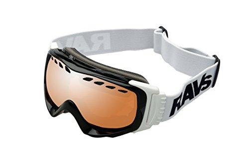 """Ravs by Alpland SKI ALPIN SKIBRILLE Schutzbrille Snowboardbrille - goggle - HELMKOMPATIBEL mit SOFTBAG """" TEST """"SEHR GUT""""!"""