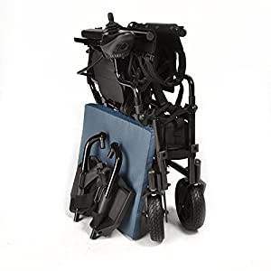 Breeze folding lightweight electric wheelchair - up to 12 miles range. Ony 25kg inc lithium battery