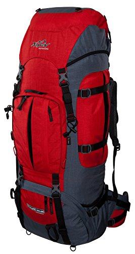 Trekkingrucksack 100 + 20 TASHEV MOUNT 120 Rucksack aus Cordura® inkl. Regenhülle (Hergestellt in Europa)